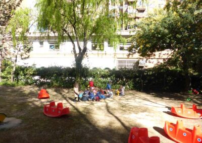 Jugando en el parque