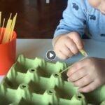 Actividad para la Motricidad fina de los niños 🤗